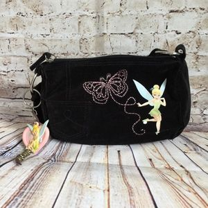 Disney Tinker Bell Brown Purse Handbag